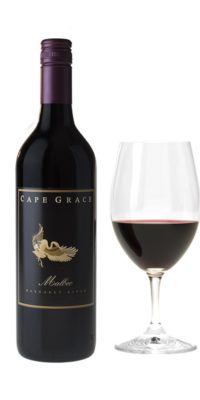 Cape Grace Wines 2017 Malbec with Glass